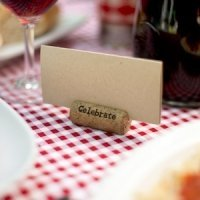 Wine Cork Card Holders (Set of 6)