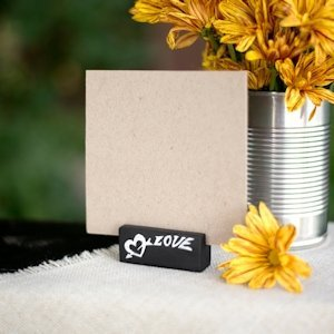 Love Chalk Table Name Card Holders (Set of 6) image