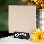 Love Chalk Table Name Card Holders (Set of 6)