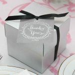 Charming Vintage Thank You Favor Cards (Set of 25)