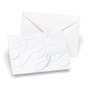 Unending Gratitude Thank You Cards (Set of 50 - 2 Colors) image