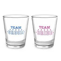 Team Bride or Team Groom Party Shot Glass