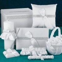Bling Wedding Accessory Set
