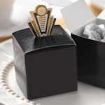 Art Deco Pop-Up Favor Boxes (Gold or Silver)
