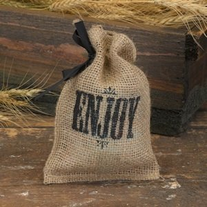 Enjoy - Mini Burlap Bags (Set of 25) image
