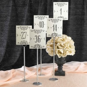 Glamour Table Number Cards (1-40) image