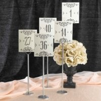 Glamour Table Number Cards (1-40)