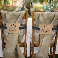 Mr. & Mrs. Kraft Chair Banners