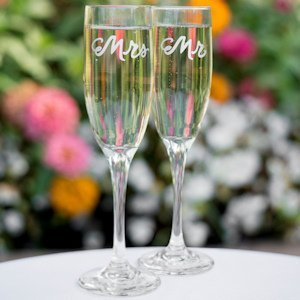 Love is in the Air Toasting Flutes image