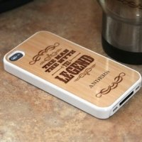 Custom 'The Legend' iPhone 4 Cover