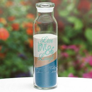 Live Love Laugh Custom Sand Ceremony Cylinder image