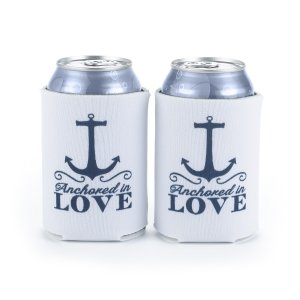 Nautical Can Coolers (Set of 2) image