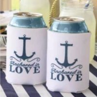 Nautical Can Coolers (Set of 2)