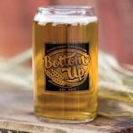 Bottoms Up Can Glass (Set of 2)