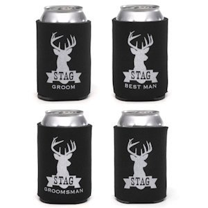 Stag Series Bridal Party Koozies (4 Designs) image