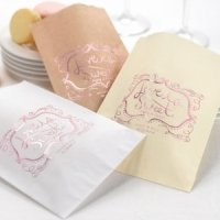 Personalized Love is Sweet Wedding Treat Bags (Set of 50)