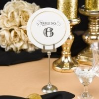 Golden Elegance Table Numbers