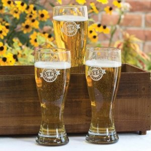 Giant Beer Pilsner Glasses image