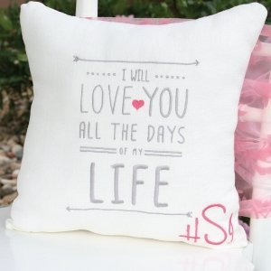 I Will Throw Pillow image