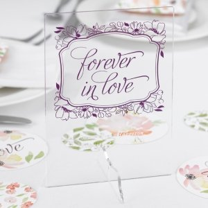 Floral Forever Decorative Table Sign image