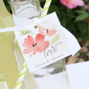 Floral Forever Favor Tag (Set of 24) image
