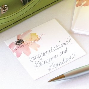 Floral Forever Mini Advice Wish Cards (Set of 25) image