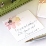 Floral Forever Mini Advice Wish Cards (Set of 25)