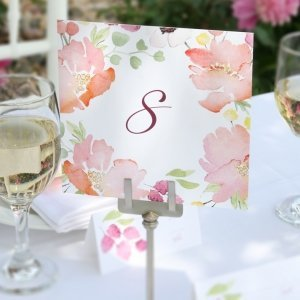 Floral Forever Table Numbers image
