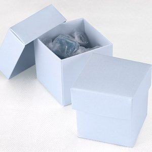 Mix and Match Two Piece Diamond Blue Favor Box (Set of 25) image