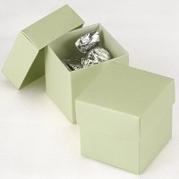 Mix and Match Two Piece Juniper Favor Boxes (Set of 25)