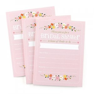 Botanical Bridal Shower Invitations (Set of 25) image