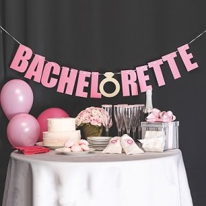 Bachelorette Party Decoration Laser Cut Banner image