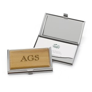 Custom Wood Card Case image
