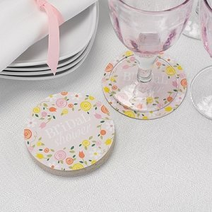 Botanical Bridal Shower Coasters (Set of 25) image