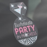Bachelorette Party On Board Repositionable Cling