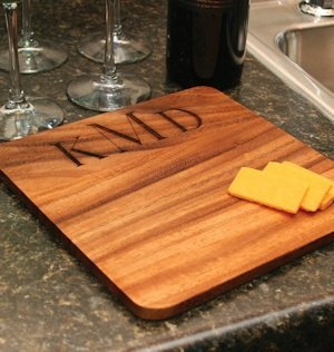 Personalized Wooden Cutting Board image