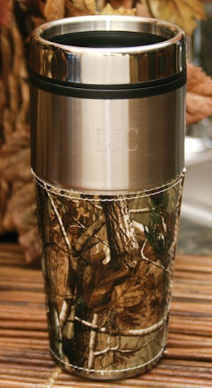 Personalized Camouflage Travel Mug image