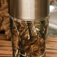 Personalized Camouflage Travel Mug