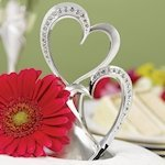 Sparkling Hearts Cake Topper
