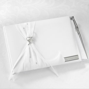 Heartfelt Whimsy Guest Book and Pen Set image
