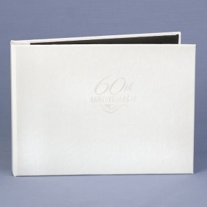 60th Anniversary Diamond Guest Book image