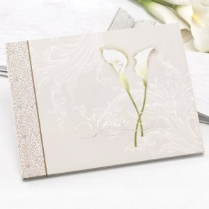 Calla Lily Pair Guest Book image