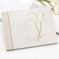 Calla Lily Pair Guest Book