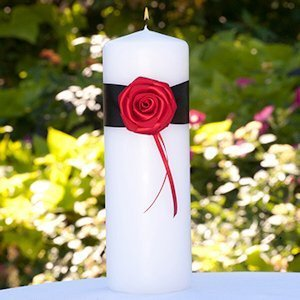 Midnight Rose Unity Candle image