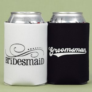 Bridesmaid and Groomsman Can Koozies image