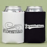 Bridesmaid and Groomsman Can Koozies