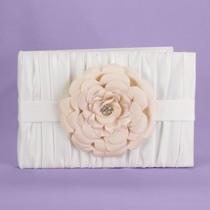 Love Blooms Ivory Wedding Guest Book image
