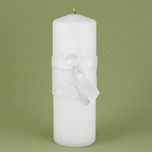 Lace Allure Unity Candle image