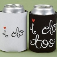 I Do & I Do Too Wedding Can Cooler Set