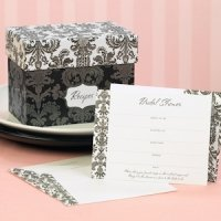 Recipe Box Bridal Shower Invites